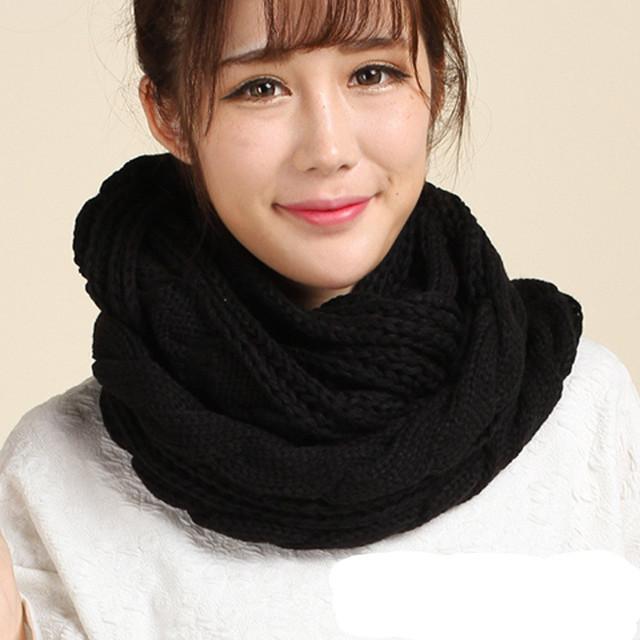 Bufandas gruesas tejidas - Bufandas de lana originales ...