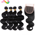 Brazilian Virgin Hair Body Wave 7A Brazillian Body Wave 3Bundles Mink Brazilian Hair Weave Bundles Unprocessed Virgin Human Hair