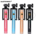 H520 Aluminum Alloy Folding Wired Sefie Stick Extendable Handheld Monopod Self Stick For Iphone 6 plus