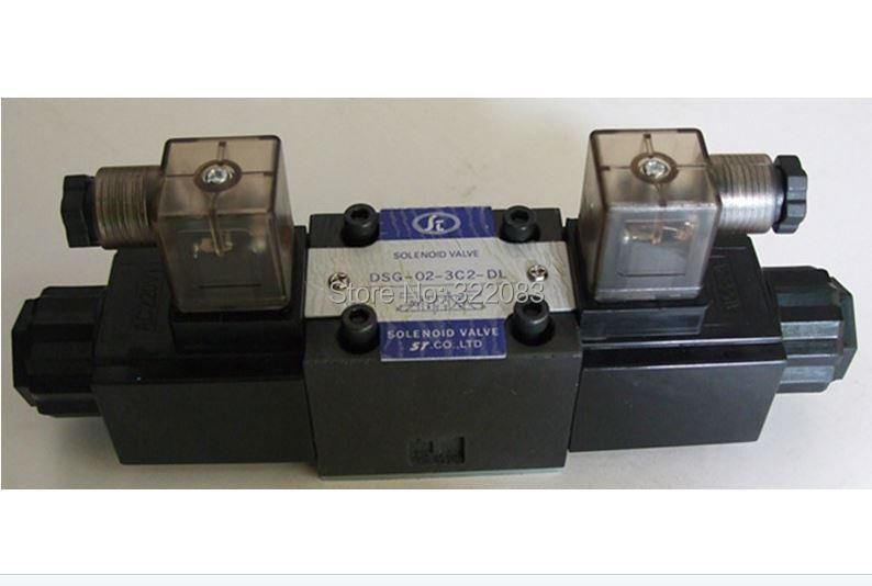 Yuken Type Hydraulic Solenoid Valve DSG-02-3C2-DL-DC24V Max.31.5Mpa(China (Mainland))