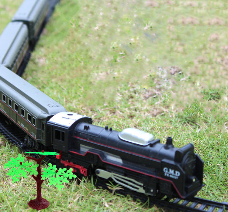 Free Shipping Lionel Polar Express Train Set Harry Potter steam train with rail way 100 cm best gift for kid original package<br><br>Aliexpress