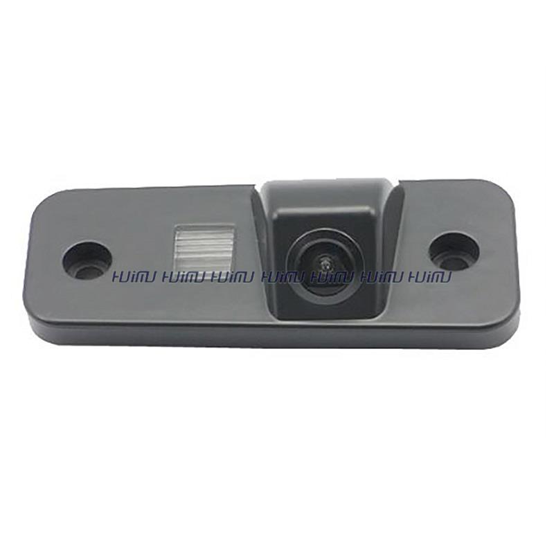 wireless wire Car Rear camera Reverse parking assist for HYUNDAI SANTA FE Santafe Azera Grandeur waterpoof license plate camera(China (Mainland))
