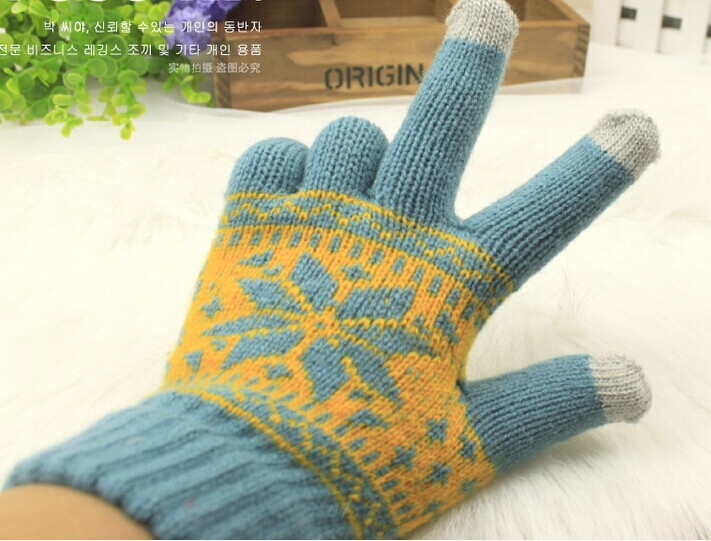 Glove Screen gloves High grade package Unisex Winter Iphone glove - MISS BEAUTY JEWELRY store
