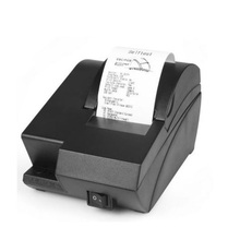 Mini 58mm thermal receipt printer small ticket thermal printer USB port low noise for restaurant supermarket POS system printer(China (Mainland))