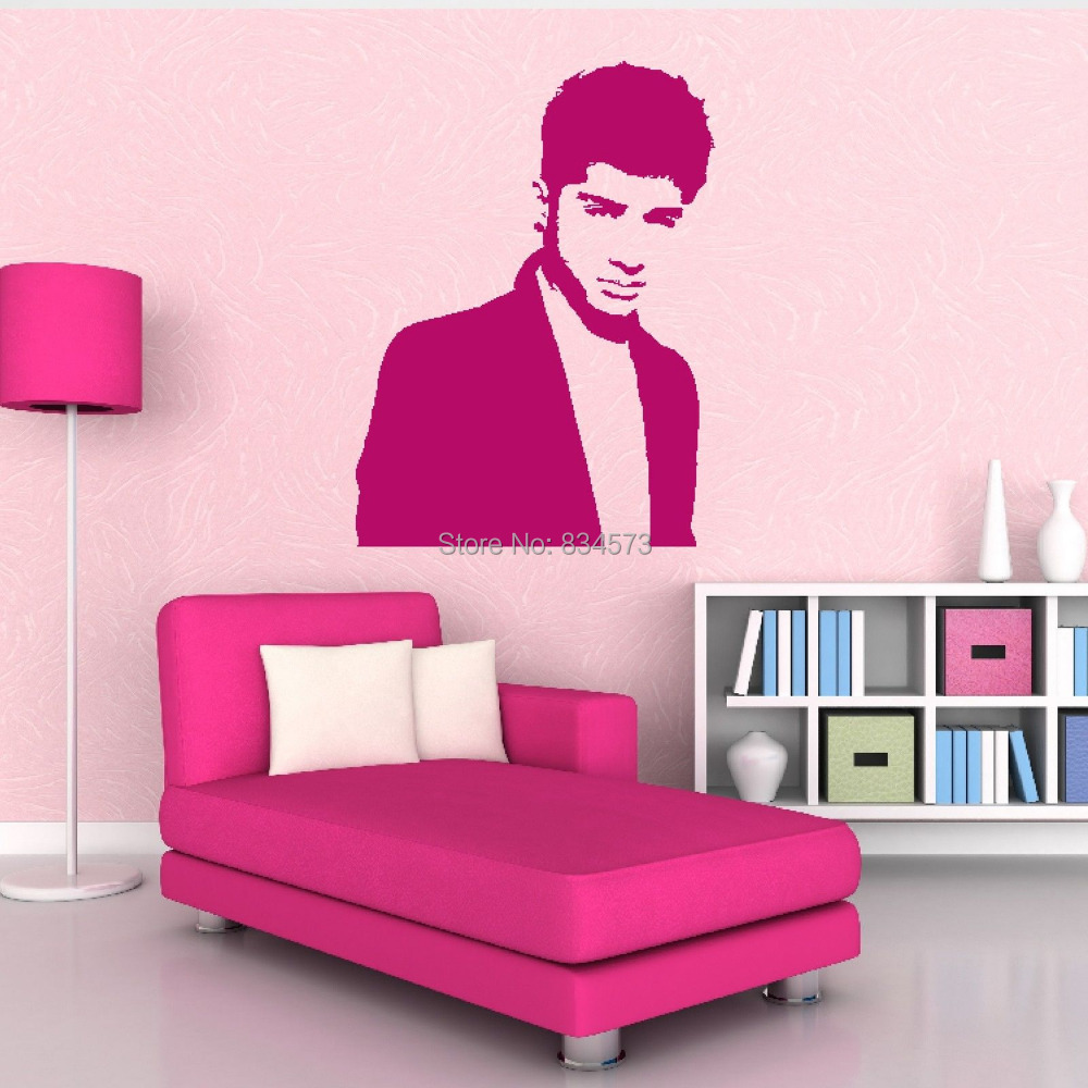 One Direction Bedroom Decor Stickers Golf Picture More Detailed Picture About Hot Zayn Malik