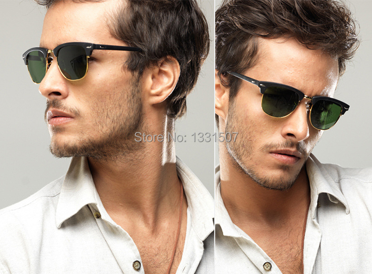Polarized Cat Eye Shaped Sunglasses