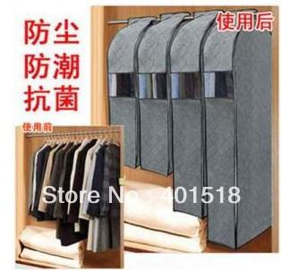 складной бамбукового древесного угля волокна ящик для хранения организатор сумка чехол для костюма одежда пальто Джека ветра пальто размер L