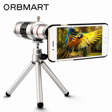 Buy ORBMART 18X Optical Zoom Telescope Mobile Phone Lens Apple iPhone 7 7 Plus Mini tripod Back Case Cover for $26.25 in AliExpress store