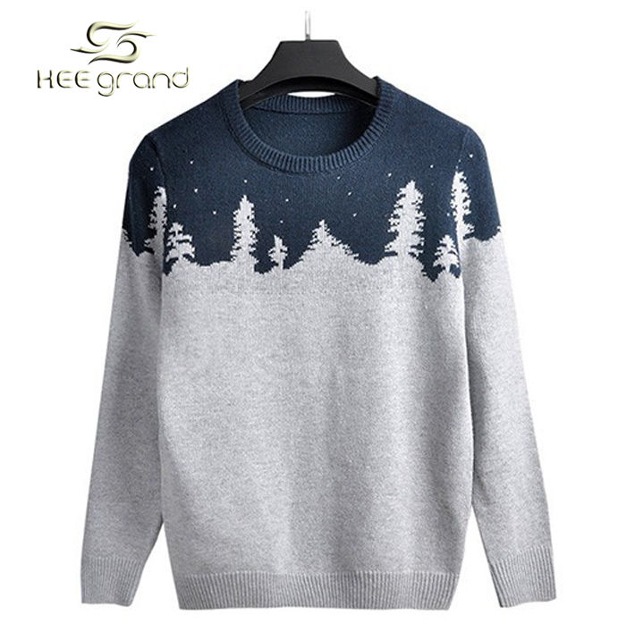 Sweater Men 2015 New Arrival Men's Sweater Korean Style Casual Splicing Pullover Sweater Blusa Masculina M-XXL 3 Colors MZY019(China (Mainland))