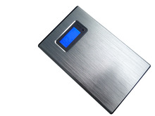 12000MAH Charge mobile phone gifts metal Shell LCD Screen 18650 Mobile Power Bank