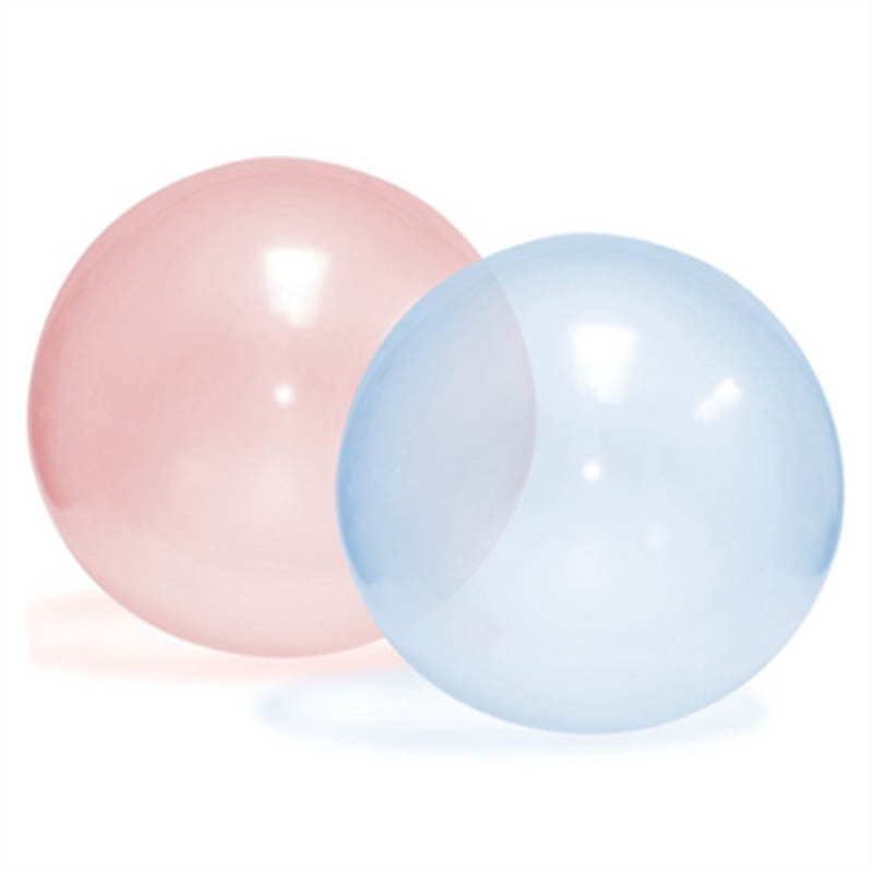 22*8cm Creative Inflatable Bouncy Ball Children Play Fun Bubble For Soccer Kids Novelty Outdoor Toys TD0077(China (Mainland))