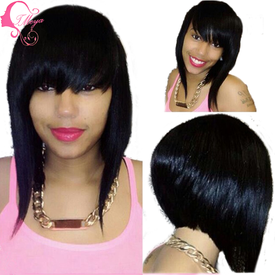 bob wigs for black women realistic lace front wig