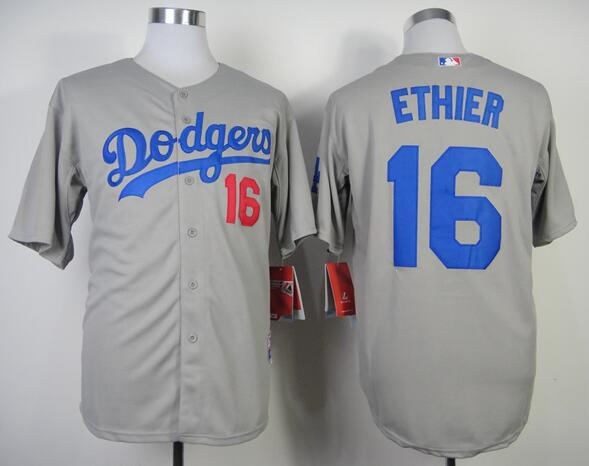 61 Josh Beckett 16 Andre Ethier 13 Hanley Ramirez jersey blue gray white Los Angeles Dodgers cool base baseball Jersey(China (Mainland))