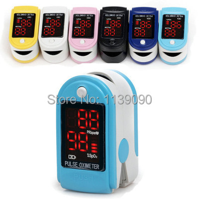 LED Digital fingertip pulse Oximeter/ Oxymeter CE and FDA approval(China (Mainland))