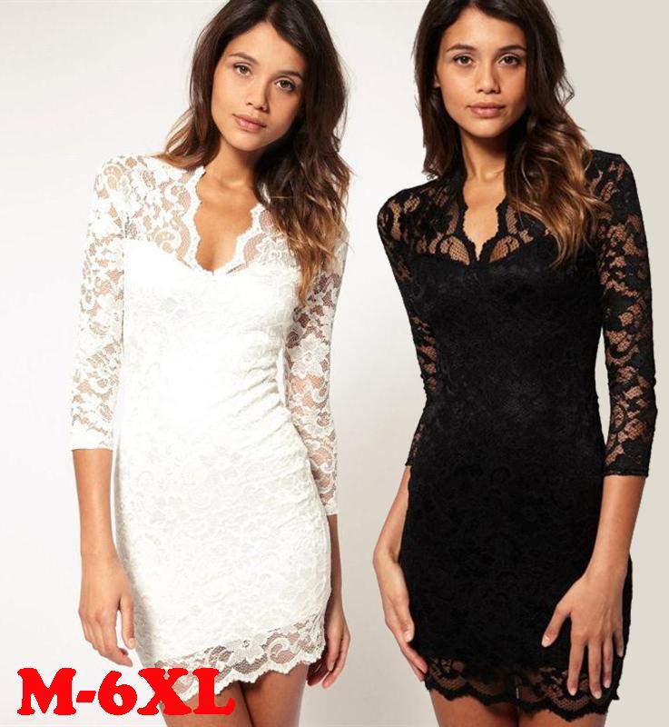 цена Женское платье Vestidos 6XL 5XL Bodycon 4XL 3XL онлайн в 2017 году