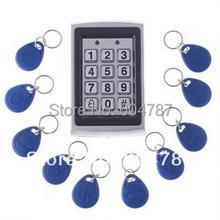 Электронные RFID Расстояние Вступление Дверной Замок Система Контроля Доступа + 10 Брелоков TR