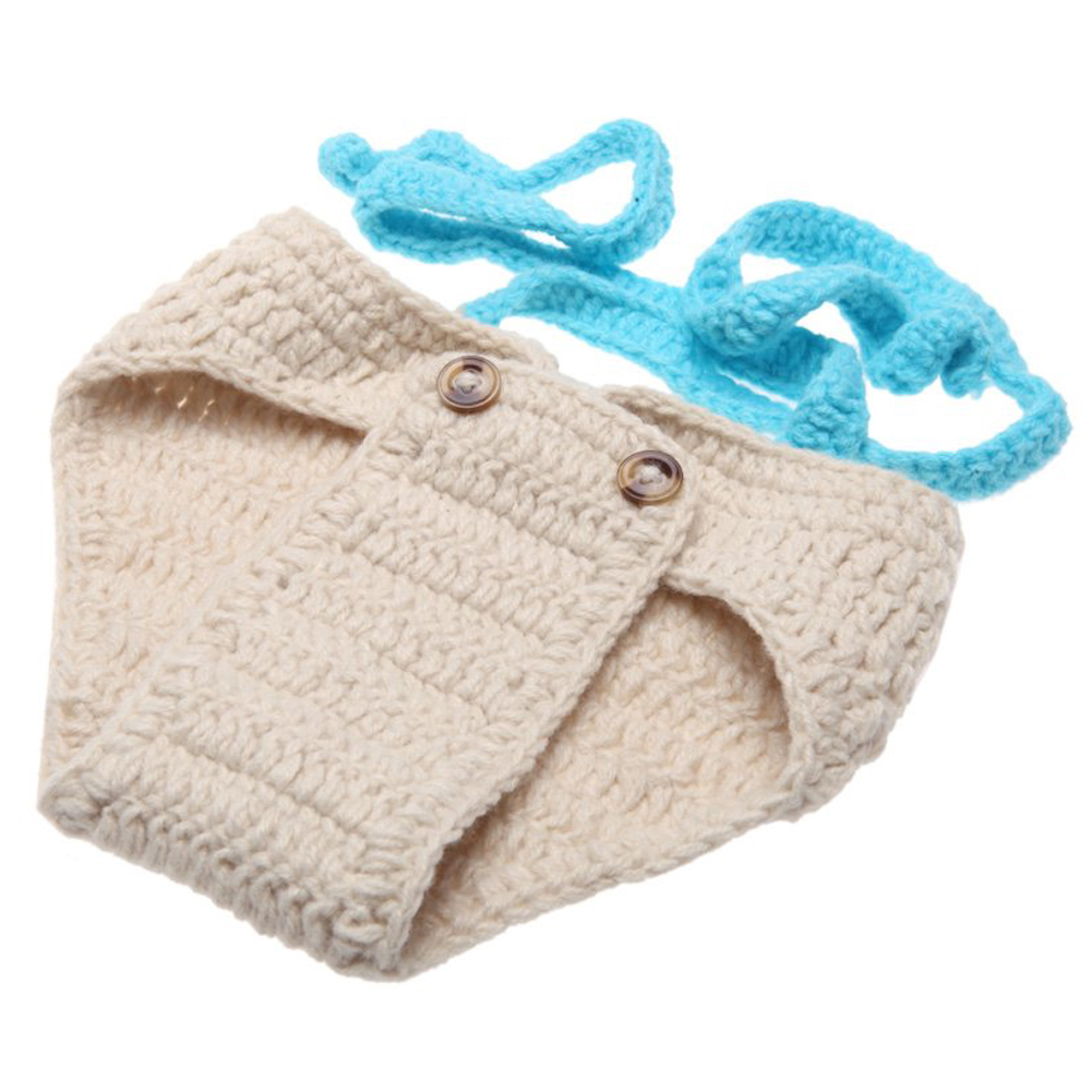 SCYL WHOLESALE Baby clothing set Infant Bow Tie Hat Crochet Knitting Costume Soft Clothes Photography Props 0-6 Month Newborn(China (Mainland))