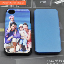 3d Sublimation Phone Case Mold for iPhone 4/4S cases mould metal mold DIY jig 3d screen in the thermal transfer printing process