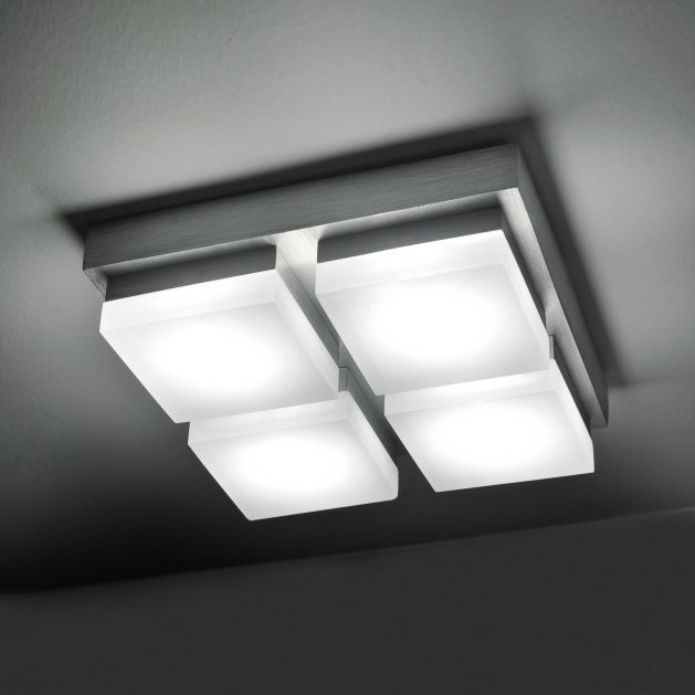 Фотография Square Lustre Led Indoor Lighting 20W LED Ceiling Lamps for Home Hallway Balcony Ceiling Light Lighting Lustres Home Decoration