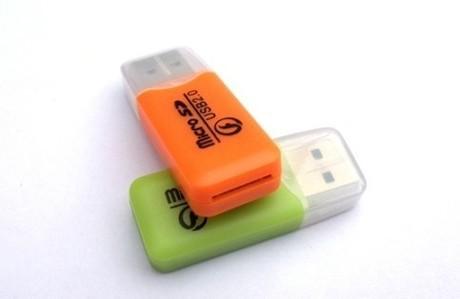 high speed Mini USB 2.0 Micro SD TF Card reader adapter portable phone small tf card reader usb flash drive(China (Mainland))