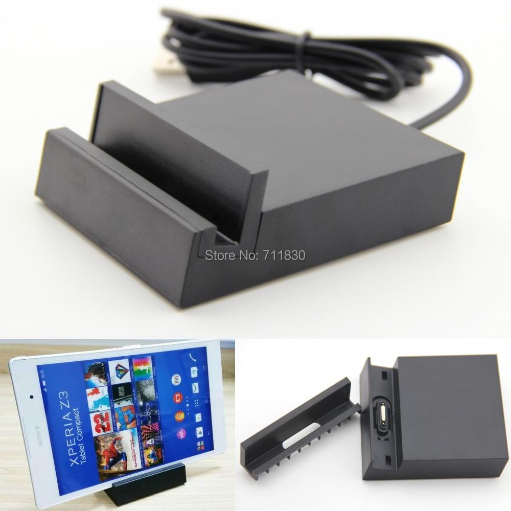 DK40 Magnetic Charger Dock Station Black Desktop Cradle For Sony Xperia Z3 Tablet Compact SGP621 SGP641