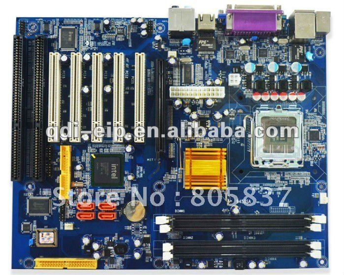 Motherboard with 2 pci express x16 slots
