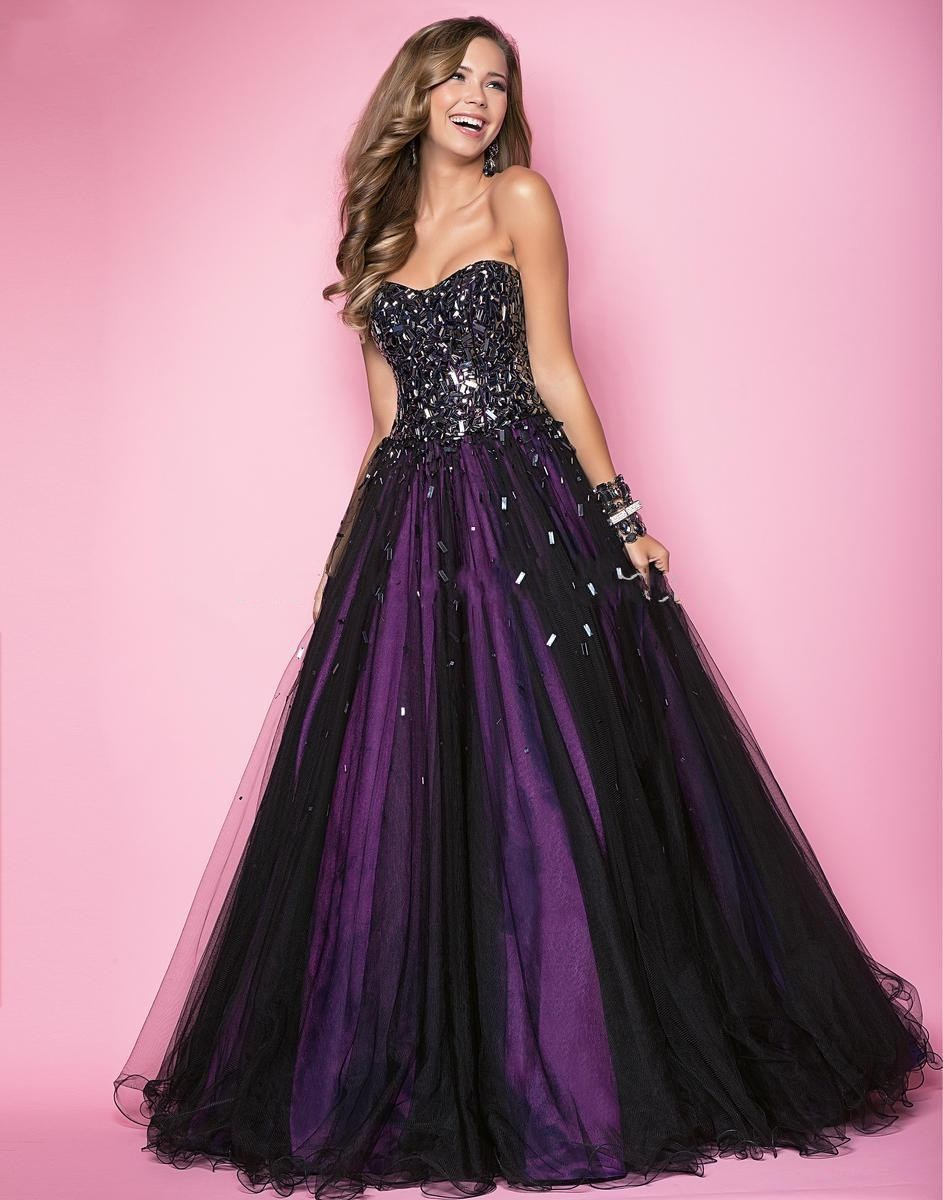Compare Prices on Black Purple Prom Dress- Online Shopping/Buy Low ...
