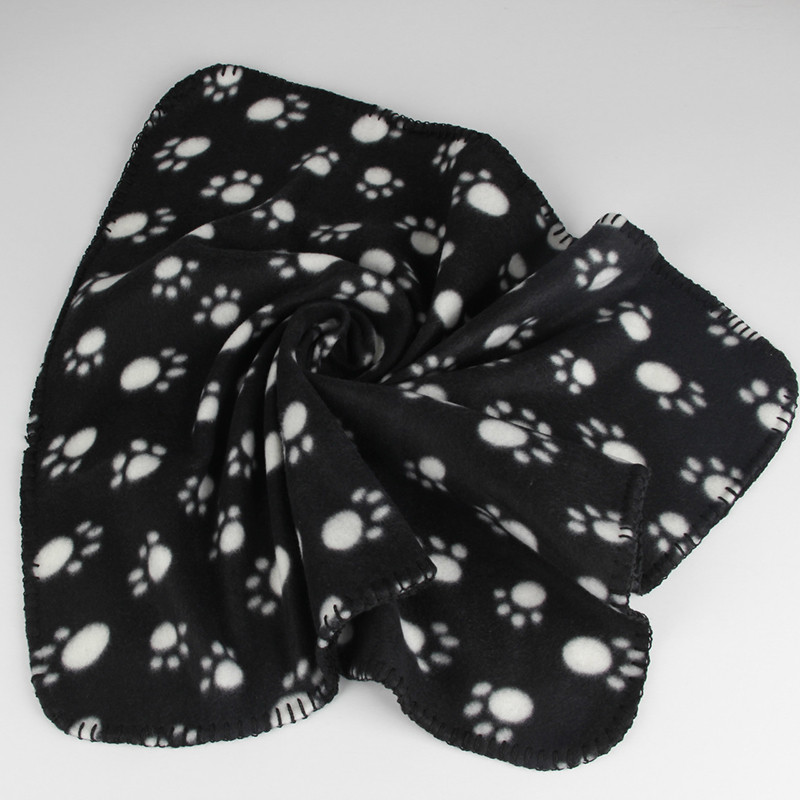 40-x-60cm-Dog-Towel-Cute-Floral-Pet-Warm-Paw-Print-Dog-Puppy-Cotton-Soft-Blanket (1)