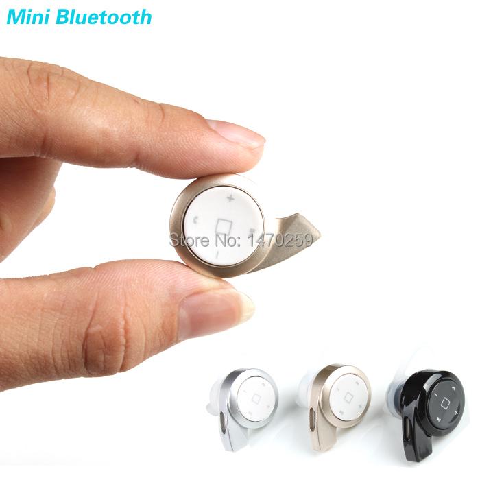 New 2014 stereo headset bluetooth earphone headphone mini V4.0 wireless bluetooth handfree universal for all phone free shipping(China (Mainland))