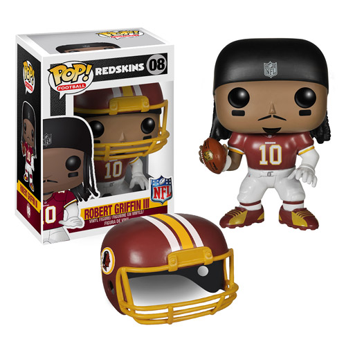 Original FUNKO POP Sport Wave 1 Robert Griffin III / Victor Cruz Vinyl Doll new box Car Decoration in stock freeshipping(China (Mainland))