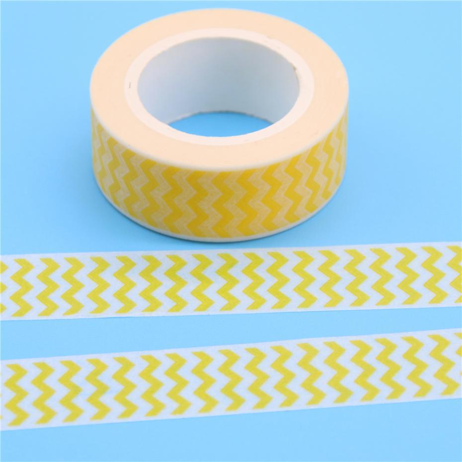 1 Pc / Pack Cotton Fabric Tape 15mm Decorative Wave Paper Making Sticky Adhesive Craft(China (Mainland))