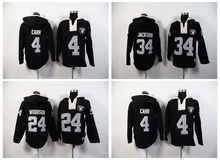 100% Stitiched,oakland Derek Carr Marcus Allen Bo Jackson Charles Woodson Sweater hoodies,camouflage(China (Mainland))