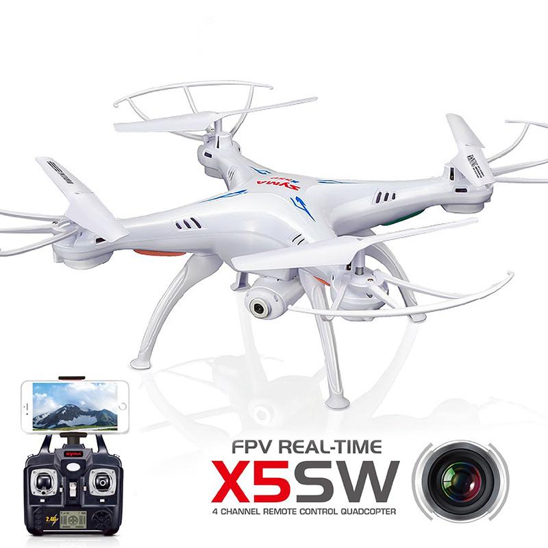 Free Shipping! Syma X5SW/X5SW-1 Explorers-II FPV 2.4G 50M RC Drone Quadcopter 2.0MP Wifi Camera