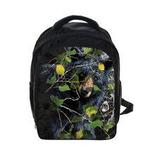 Personalizado sua imagem nome do logotipo mochila 13 Polegada dos desenhos animados do jardim de infância mochilas meninos meninas crianças sacos de escola crianças saco de livro presente(China)