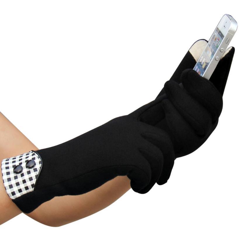 New Brand Touch Gloves Women Cashmere Warm Gloves Ladies Winter Touchscreen Gloves Outdoor Sport Iglove Fur Gloves WholesaleОдежда и ак�е��уары<br><br><br>Aliexpress