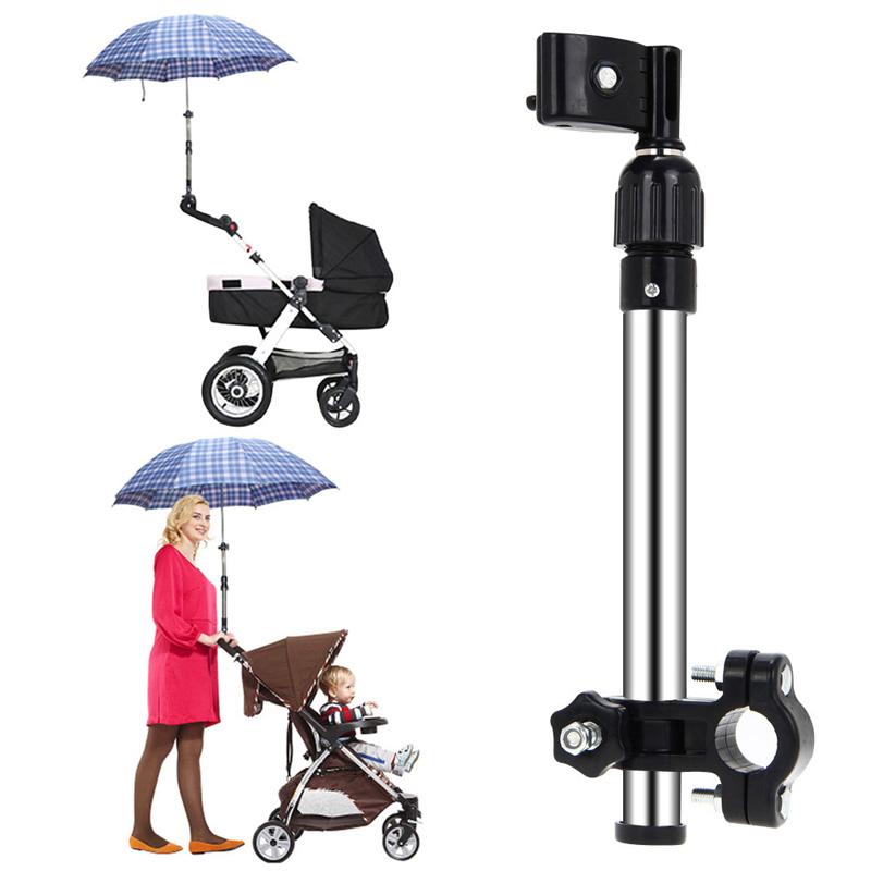 LS4G Регулируемый Детские Коляски Коляски Зонтик Стенд Держатель Кронштейн Велоспорт Велосипед Бесплатная Доставка