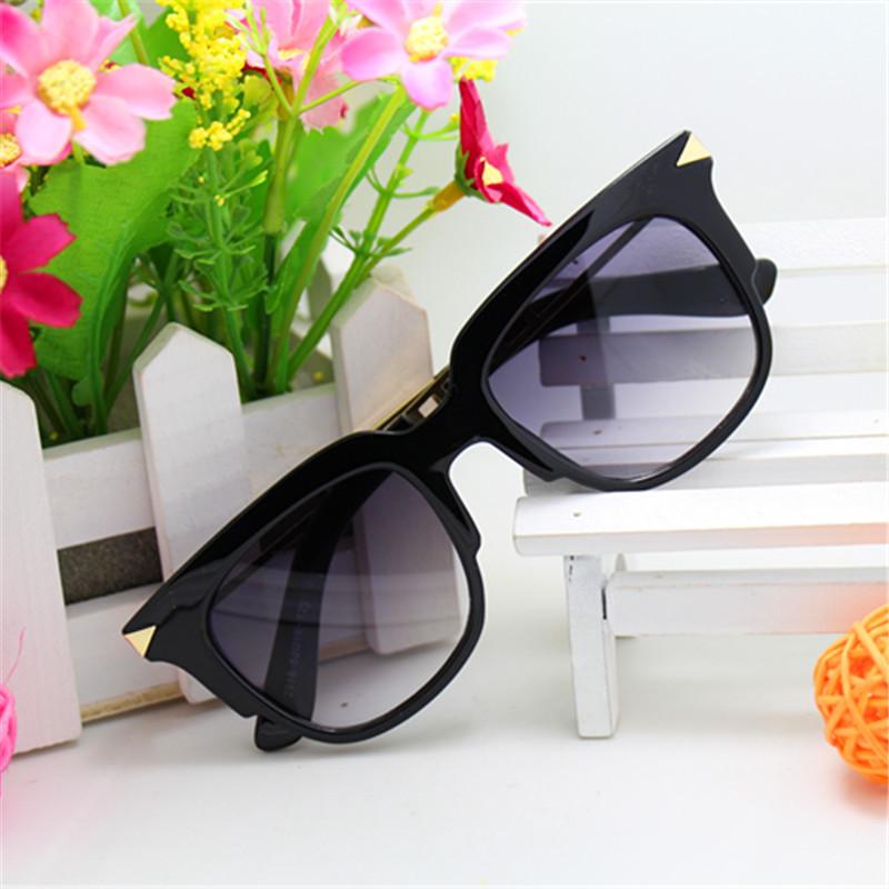 South Korean Brand Goggle New 2015 Leopard Trends Star Kids Glasses Beautiful Children Sunglasses UV400 Protection Eyewear(China (Mainland))