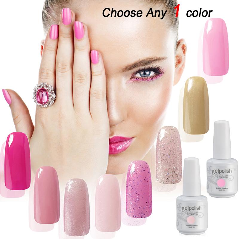 High Quality Beautiful Gelpolish Any One Color Nail Art UV Color Gel Nail Polish Lacquer UV(China (Mainland))