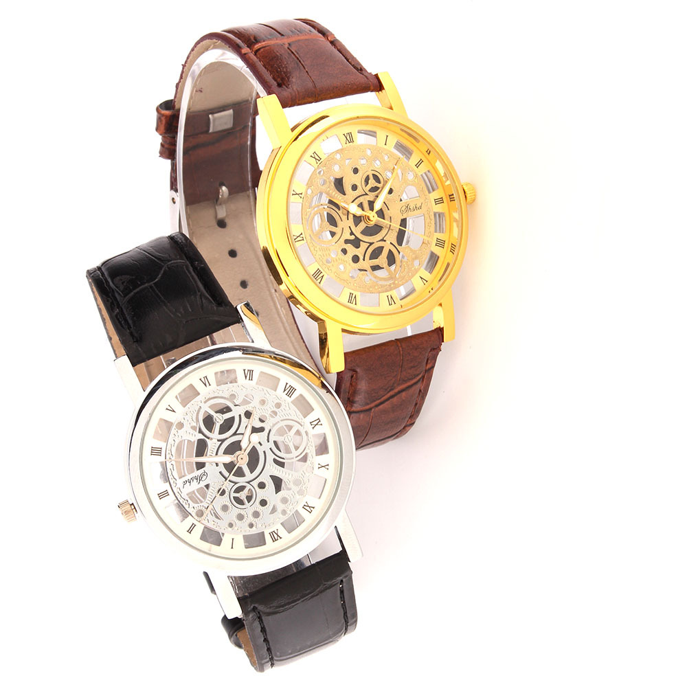 free aliexpress face walnut leather buy on fashion s strap com shshd blue watches watchband get wooden dress white wholesale men watch shipping w needle and