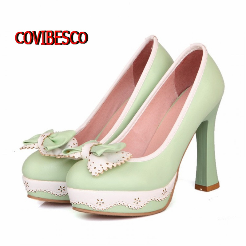 2015 New fashion wedding party high heels pumps candy colors women spring summer lady shoes large size 34-43 - COVIBESCO Ltd's store