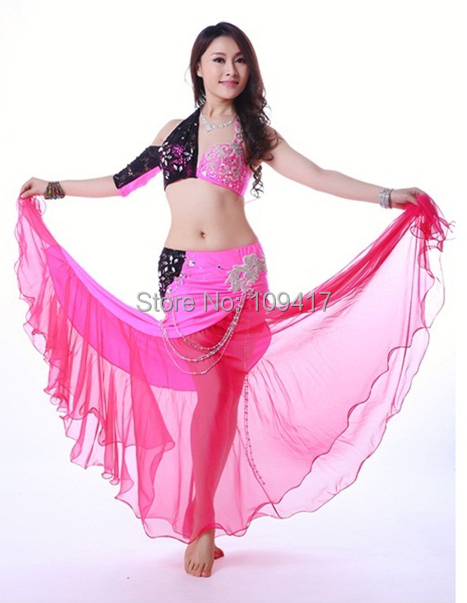 2014 Sexy Diamond Belly Dance Costume set, Wuchieal new belly dance apparel (QC2163-1) - Guangzhou Qiancai Dancing Clothes Crafts Factory store