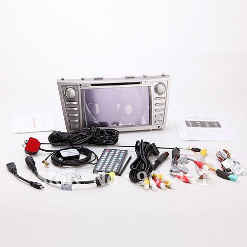 "8"" Car DVD Player GPS Navi Radio IPOD PIP Backview camera car audio and radio system Bluetooth 2007-2011 Toyota Camry"