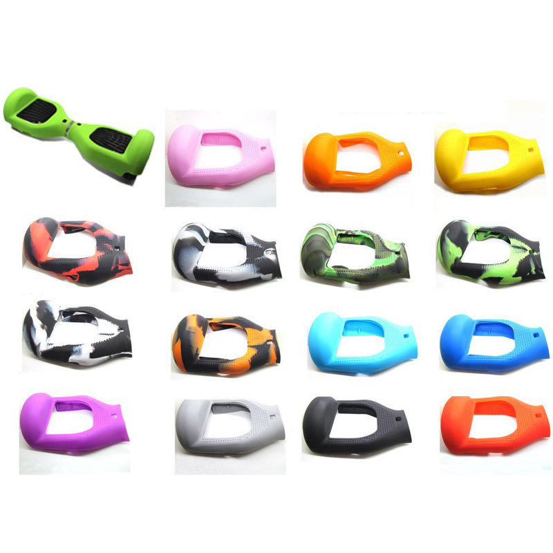 Wholesale 5 sets shell case cover housse en silicone for Housse hoverboard