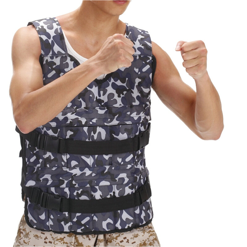 Steel plate weight vest Player exercise clothes Boxing train jacket Fashion color waistcoat(China (Mainland))