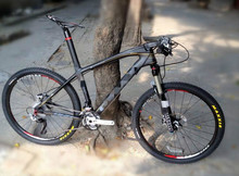 21/24/27/30 gear  986 carbon fiber  carbon mountain bikes speed bicycle  road bike   shimanuo XT M780/ M610   26 inch 19(China (Mainland))