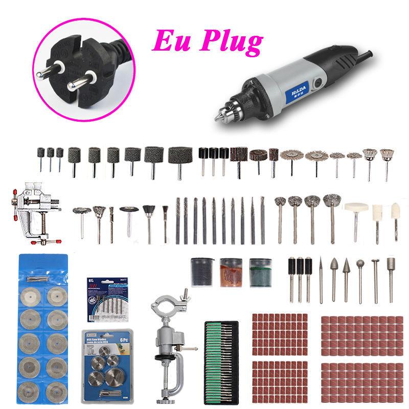 348pcs mini drill 400W dremel Electric Variable Speed Dremel Rotary Tool Mini Drill dremel tools grinding machine mini grinder