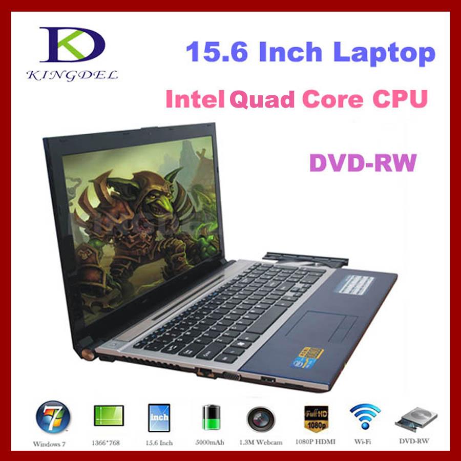2016 best selling 15.6'' Netbook laptop with Celeron J1900 Quad Core, DVD-RW, Bluetooth, 1080P HDMI,WIFI,8G RAM, 500G HDD(Hong Kong)