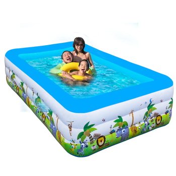 Large inflatable swimming pool 3rd ring child pool