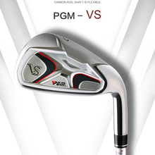 PGM VS golf iron club shaft carbon stainless steel rod head golf insert clubs Iron pole practicing beginner club with 2 color(China (Mainland))