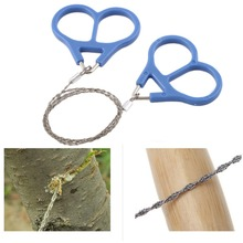 Top Quality Pocket Steel Saw Wire Camping Hunting Travel Emergency Survive Tool Stainless(China (Mainland))